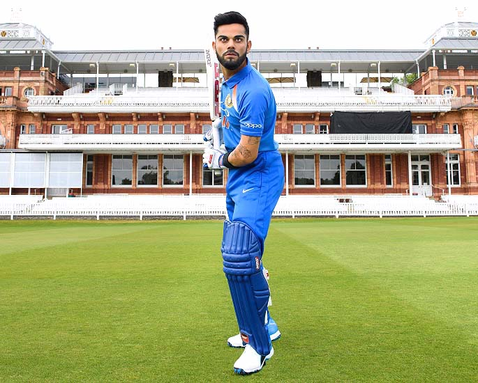 Virat Kohli Comes to the Crease at Madame Tussauds London - IA 2