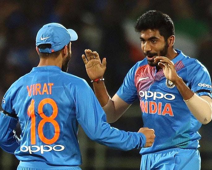 Virat Kohli is No.1 Batsman ahead of Cricket World Cup 2019 - Jasprit Bumrah Virat Kohli