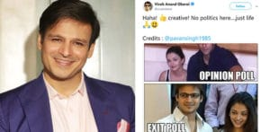 Vivek Oberoi badly Trolled for Aishwarya Rai Bachchan Tweet f