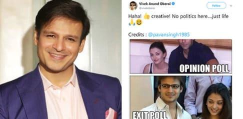 Vivek Oberoi badly Trolled for Aishwarya Rai Bachchan Tweet f
