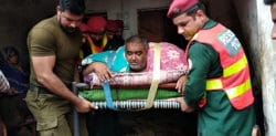 330kg Pakistani Man airlifted for Medical Treatment