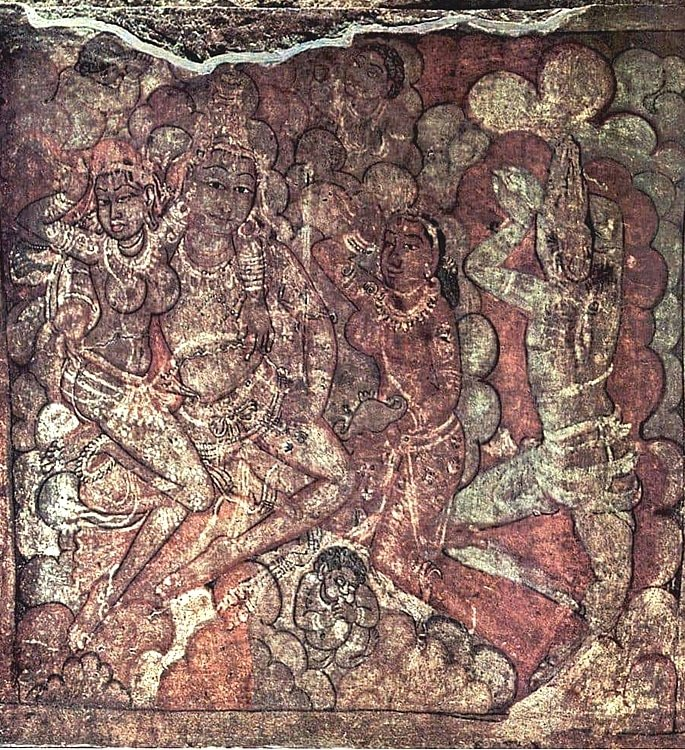 7 Types of Indian Paintings defining Culture - cave 2