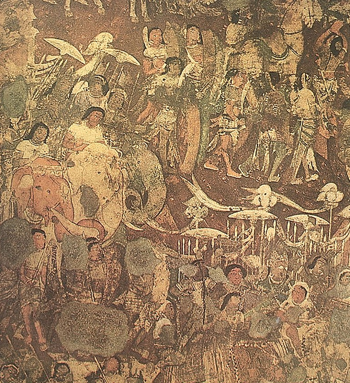 7 Types of Indian Paintings defining Culture - cave