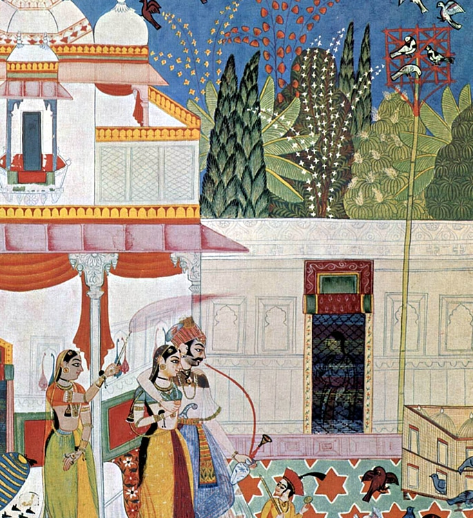 7 Types of Indian Paintings defining Culture - miniature