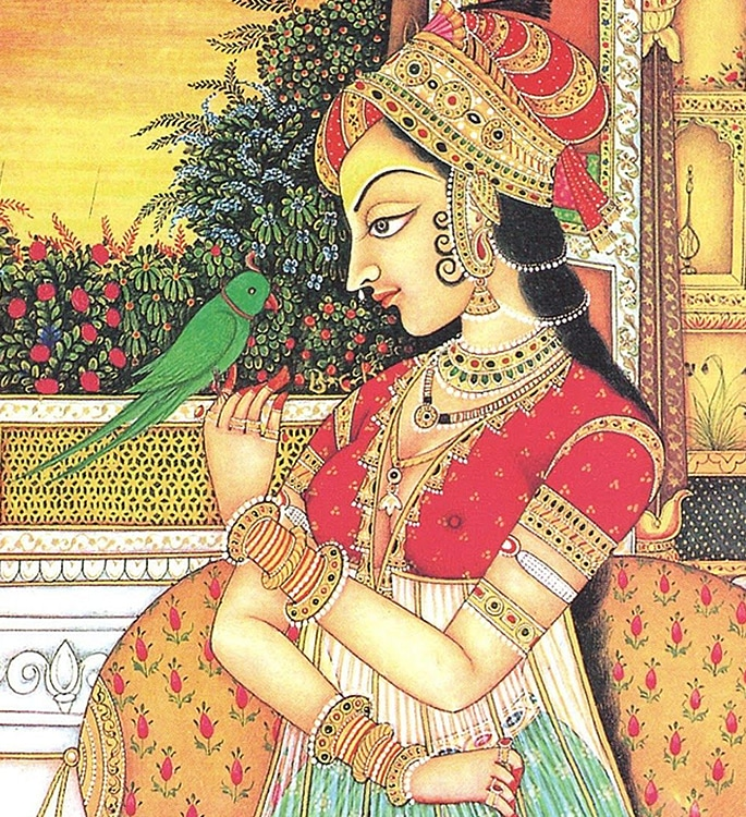 7 Types of Indian Paintings defining Culture - mughal