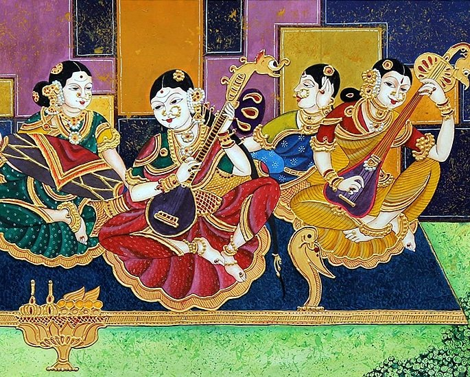 7 Types of Indian Paintings defining Culture - mysore 2