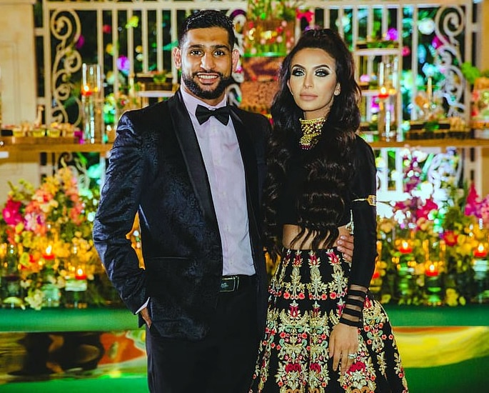 Amir Khans Parents blast Granddaughter £75k Birthday Party - couple