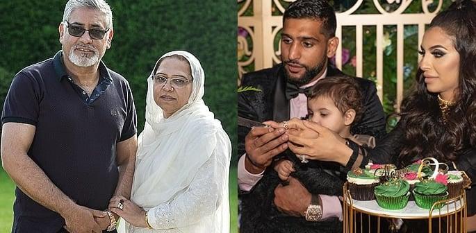 Amir Khan's Parents blast Granddaughters £75k Birthday Party ft