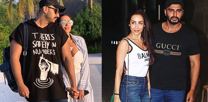 Arjun Kapoor and Malaika Arora make their Love Public f
