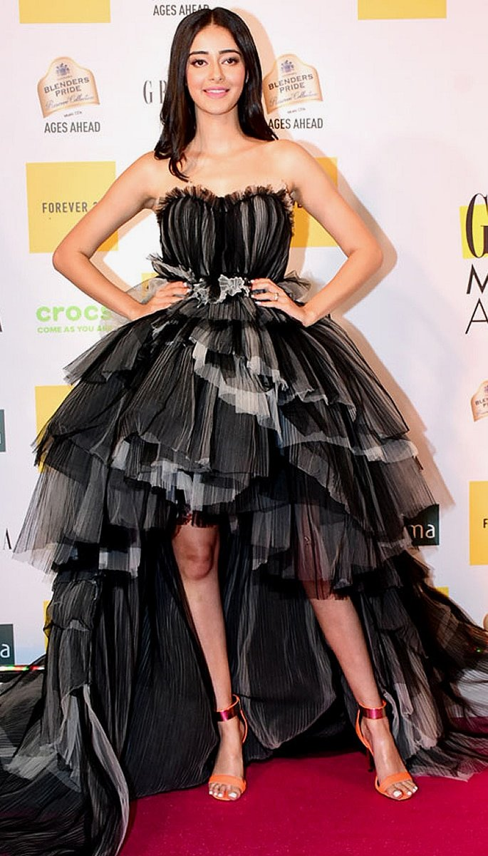 Best Dressed Bollywood Stars at Grazia Millennial 2019 Awards - ananya