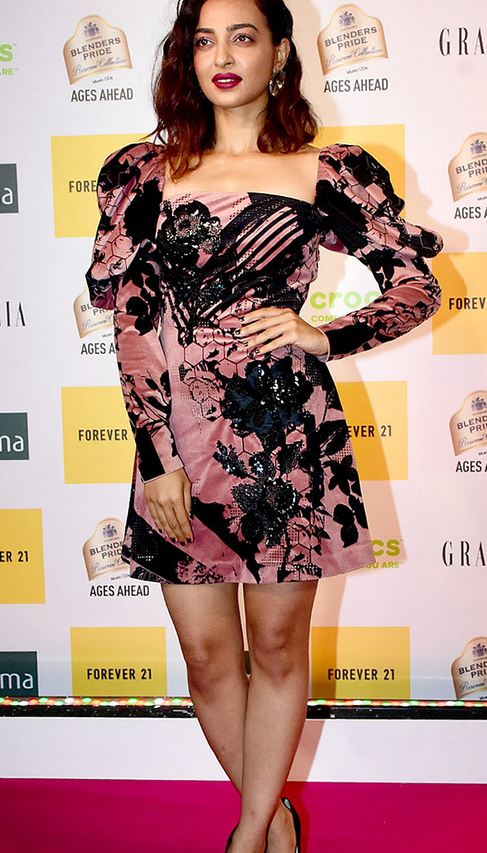 Best Dressed Bollywood Stars at Grazia Millennial 2019 Awards - radhika