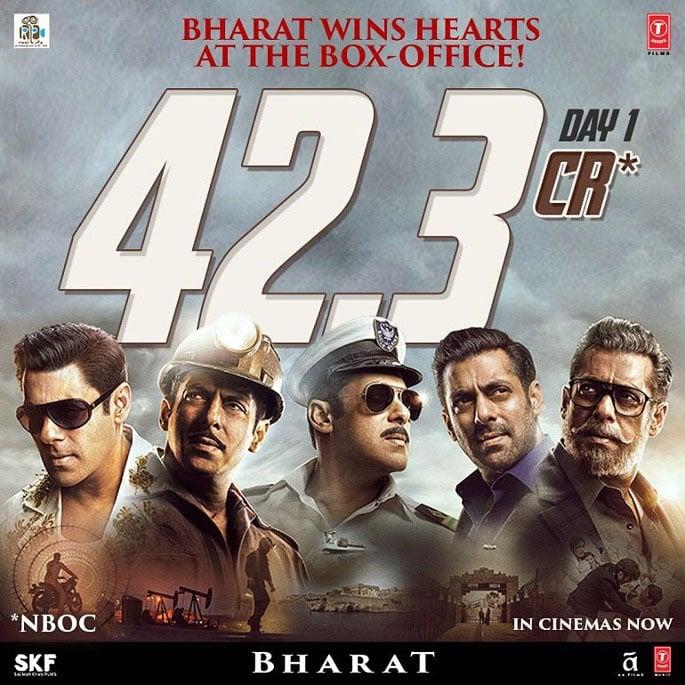 Bharat: Salman Khan thanks Fans for his Highest Opener - IA 1