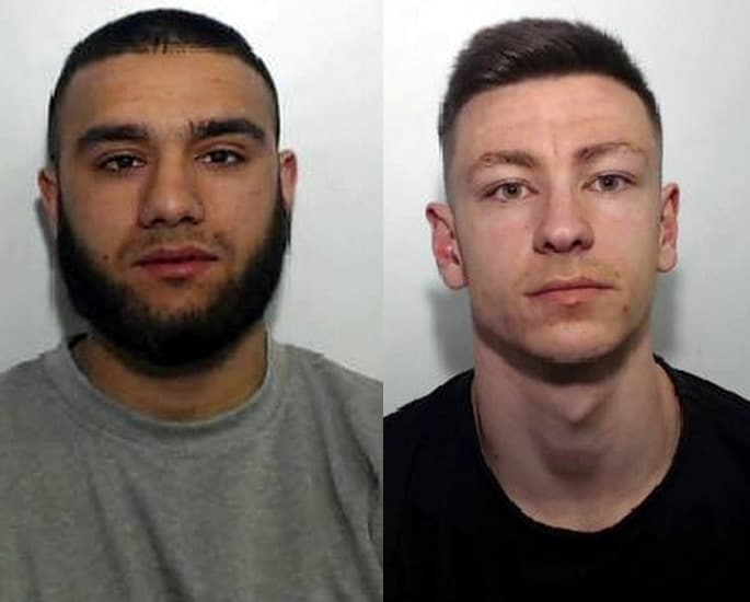Boy Racers jailed for One hitting a Car in Head-On Crash - raha and bennet