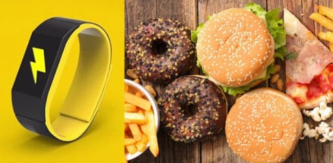 Control Junk Food Eating with this 'Electric Shock' Bracelet
