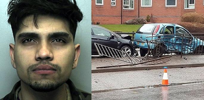 Dangerous Driver jailed for Crashing into Nursing Student's Car f