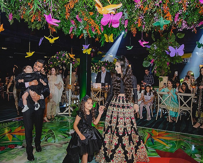Faryal Makhdoom & Amir throw £75k Birthday Party for Alayna 2
