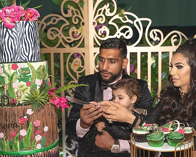 Faryal Makhdoom & Amir throw £75k Birthday Party for Alayna