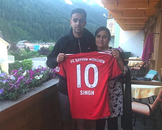 Footballer Sarpreet Singh to sign for Bayern Munich 2