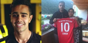 Footballer Sarpreet Singh to sign for Bayern Munich f
