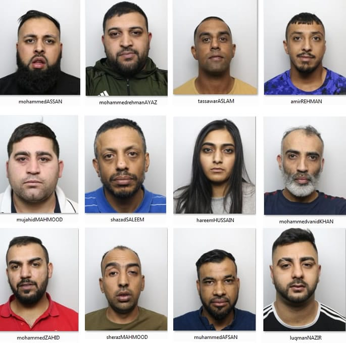 Gang jailed for £4m ring and bring Drugs Operation - gang