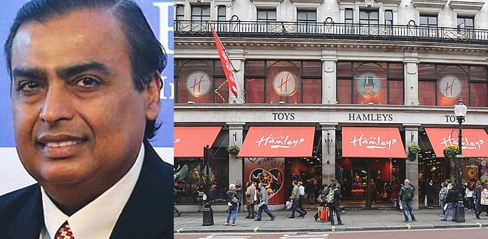 India's Richest Man buys London Toy Store Hamleys f