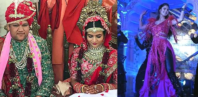 Katrina Kaif performs at £23m Indian Wedding f