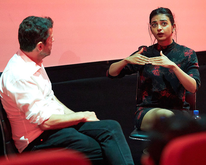 Radhika Apte talks Diversity & Unusual Choices at LIFF 2019 - IA 5