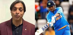Shoaib Akhtar describes MS Dhoni 'Faster than a Computer'