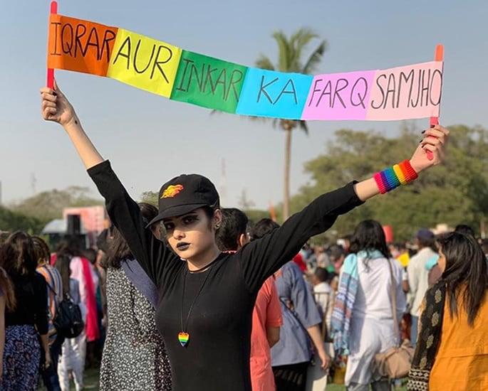 The Struggles of LGBTQ Communities in Pakistan - slogan