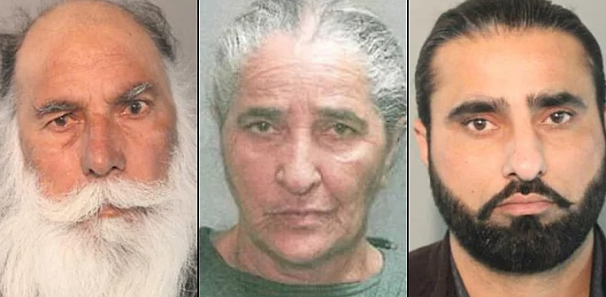 Three indicted by US Jury for Murder of Daughter-in-Law f
