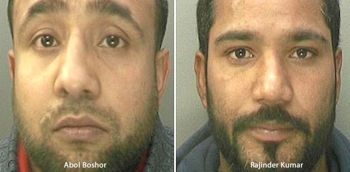 Two Drug Dealers caught with £2m worth of Heroin and Cocaine f