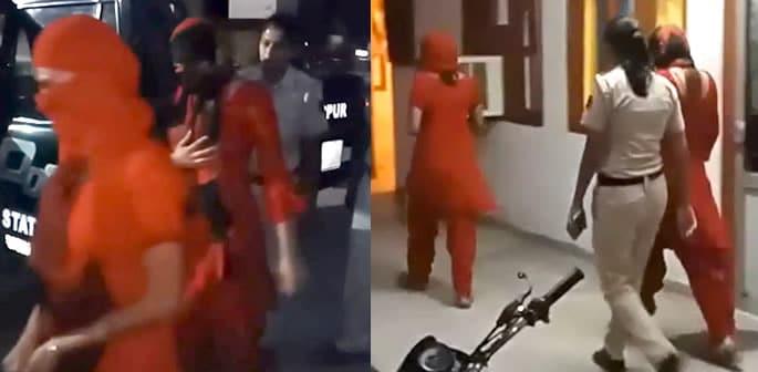Two Indian Women Filmed Men Naked for Blackmailing f