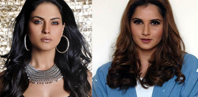 Veena Malik & Sania Mirza clash on Twitter over Pakistan Team