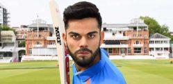 Virat Kohli Comes to the Crease at Madame Tussauds London