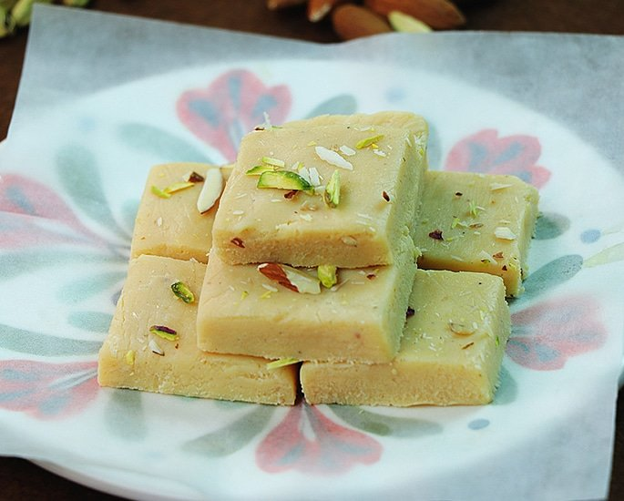 10 Best Sweet Dishes and Food of Pakistan - barfi