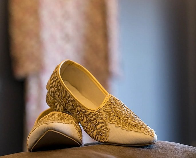10 Footwear Designs Ideal for a Desi Groom - matching