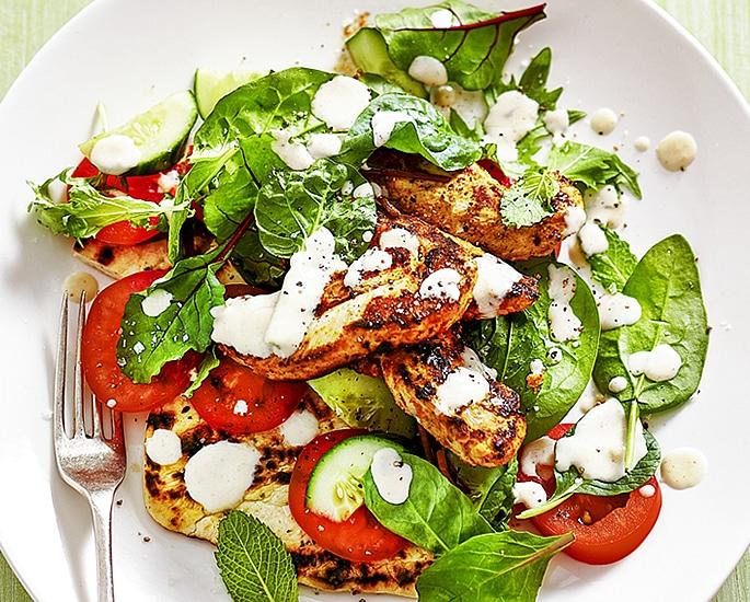 7 Indian Salad Recipes ideal for Summer - chicken tikka