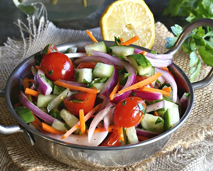 7 Indian Salad Recipes ideal for Summer - kachumber