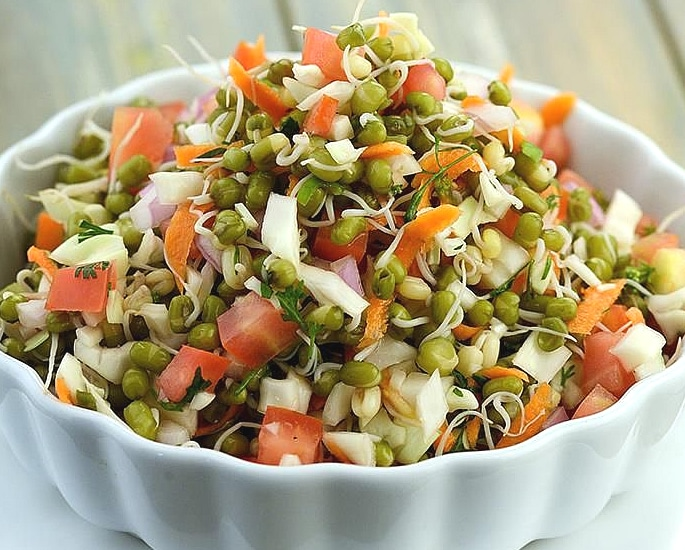 7 Indian Salad Recipes ideal for Summer - moong