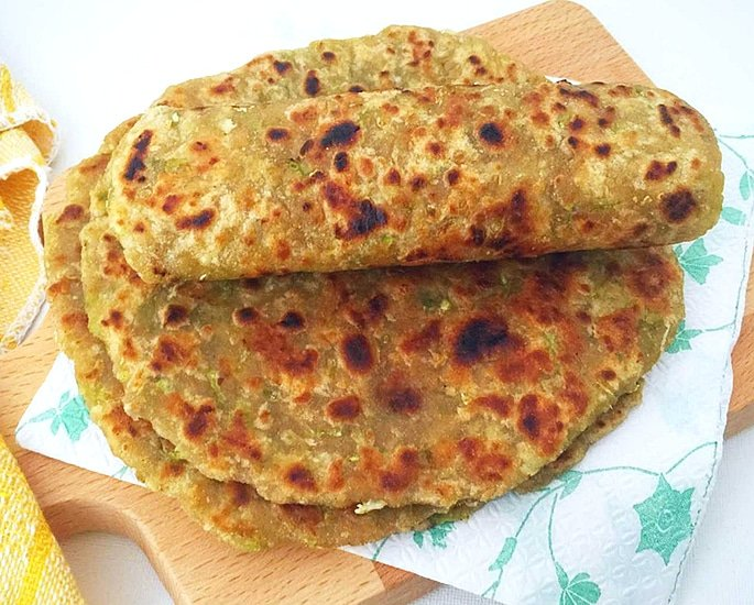 7 Unusual and Tempting Paratha Recipes - bottle gourd