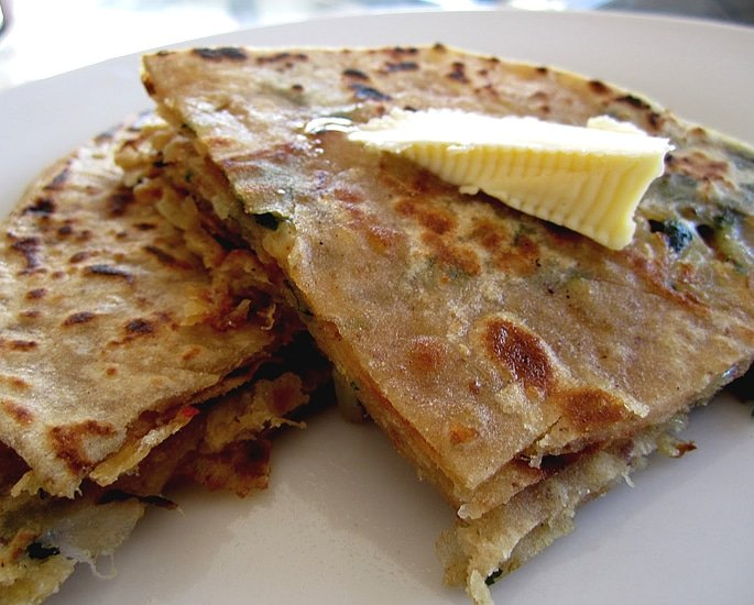 7 Unusual and Tempting Paratha Recipes - cheese