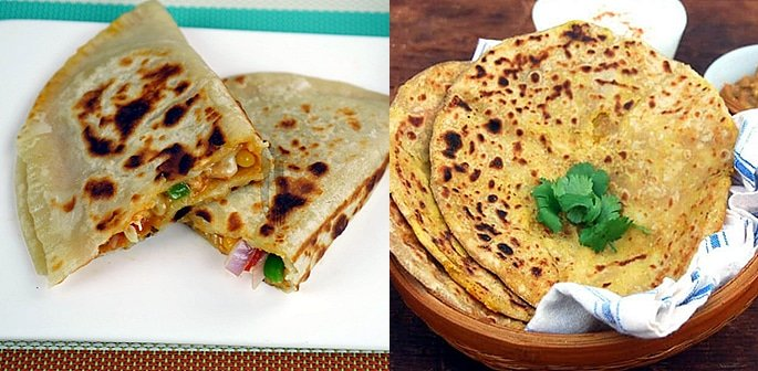 7 Unusual and Tempting Paratha Recipes f