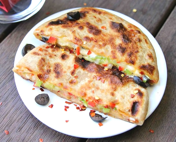7 Unusual and Tempting Paratha Recipes - pizza