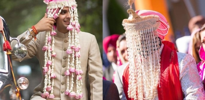 8 Sehra Designs Perfect for a Groom's Turban - f