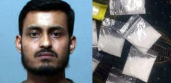 Abhijit Suklabaidya caught with 58 wraps of Heroin and Cocaine