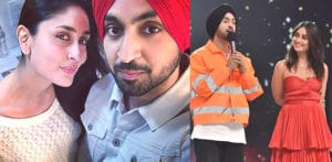 Diljit Dosanjh gets Nervous talking to Kareena Kapoor f