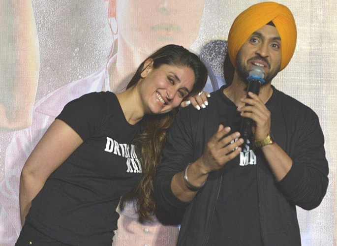 Diljit Dosanjh gets Nervous talking to Kareena Kapoor