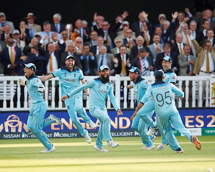 Exciting England win Cricket World Cup 2019 Super Over Final - IA 7