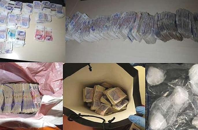 Gang jailed for laundering £1.8m from Drug Dealing