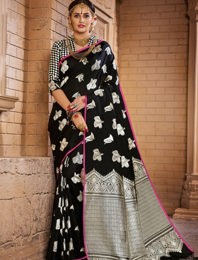 Gorgeous Fashion Saree Trends for 2020 - contemporary